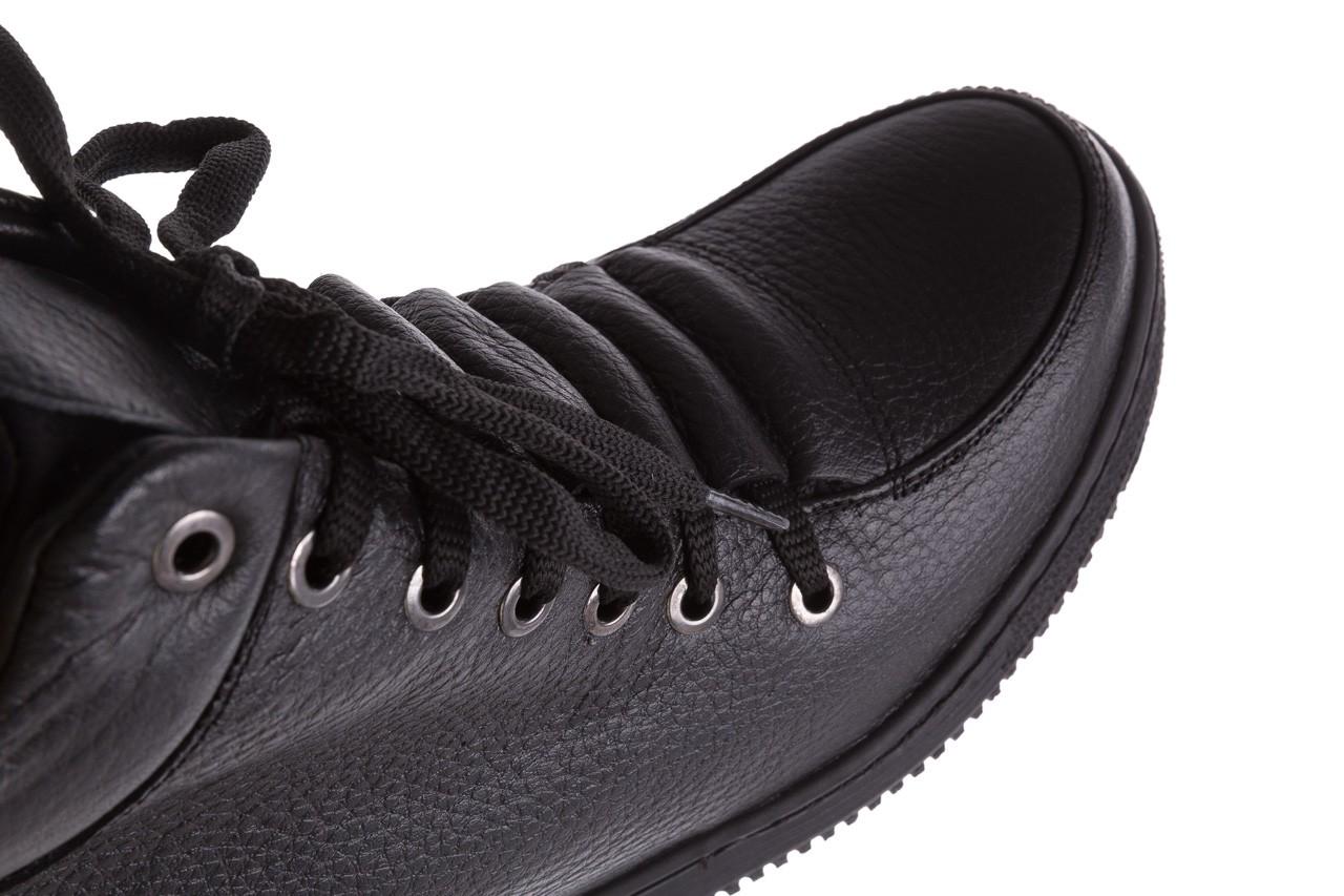 Sneakresy bayla-112 0235-io-20 czarne sneakersy, skóra naturalna  - bayla - nasze marki 12