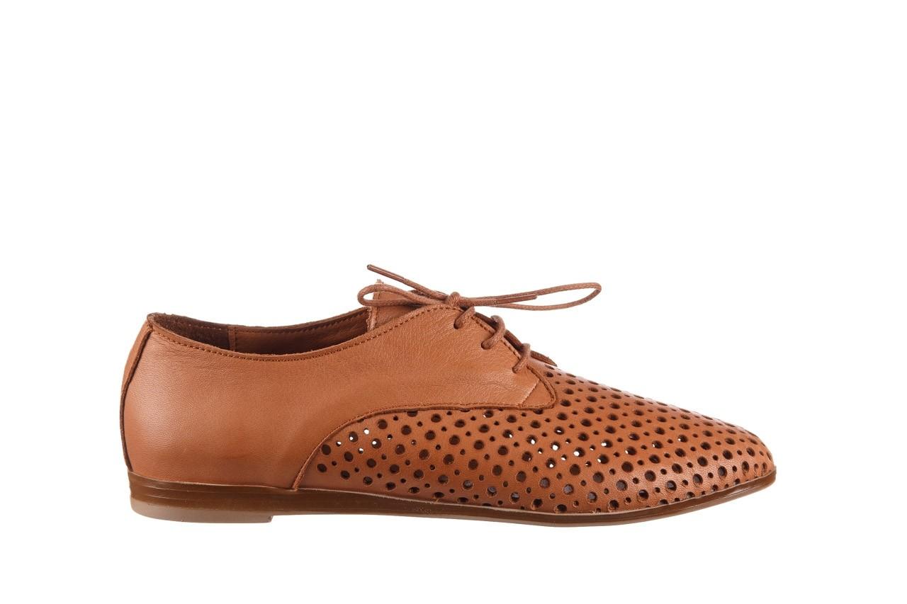 Półbuty bayla-161 138 80129 tan, brąz, skóra naturalna - sznurowane - półbuty - buty damskie - kobieta 8