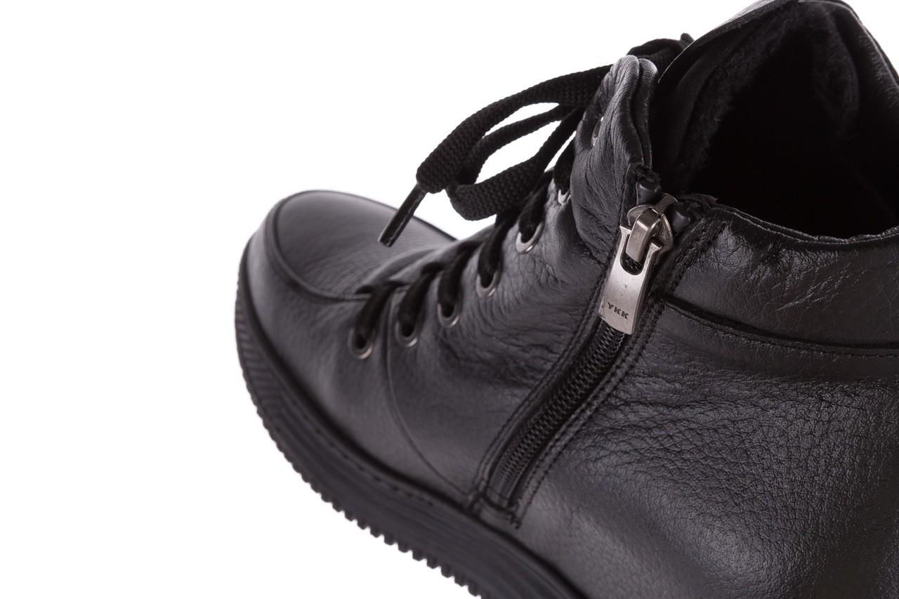 Sneakresy bayla-112 0235-io-20 czarne sneakersy, skóra naturalna  - bayla - nasze marki 13