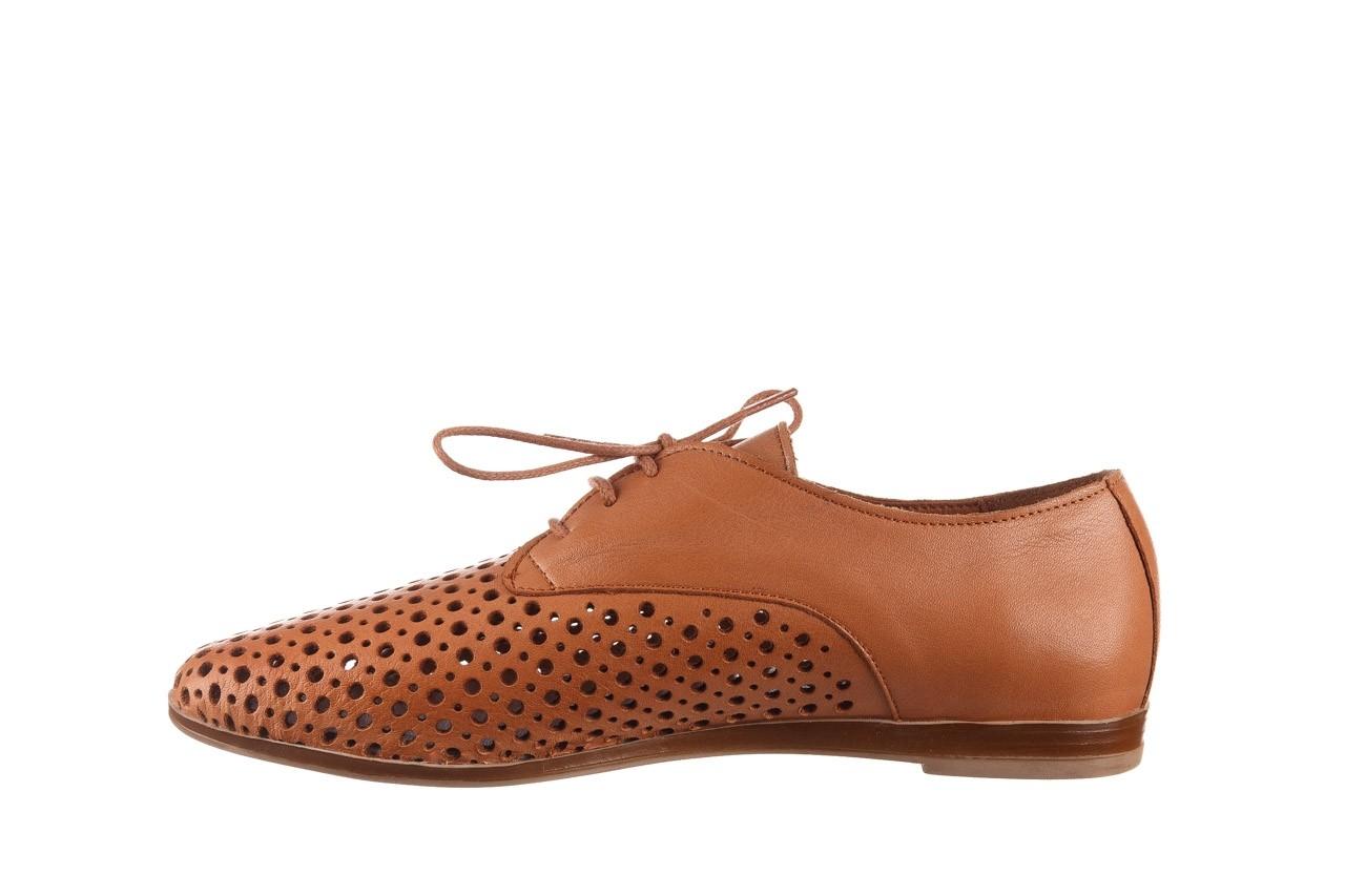 Półbuty bayla-161 138 80129 tan, brąz, skóra naturalna - sznurowane - półbuty - buty damskie - kobieta 10