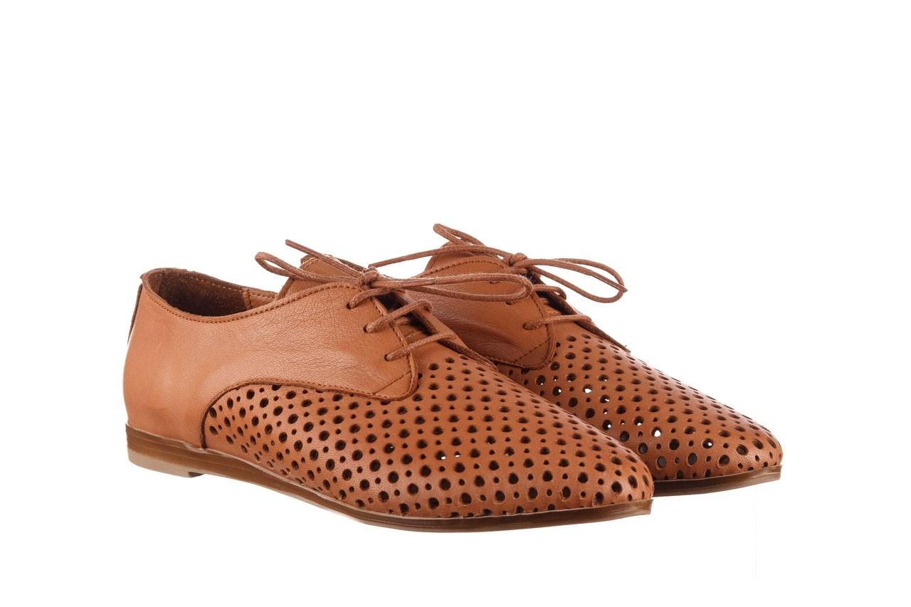 Półbuty bayla-161 138 80129 tan, brąz, skóra naturalna - sznurowane - półbuty - buty damskie - kobieta 9