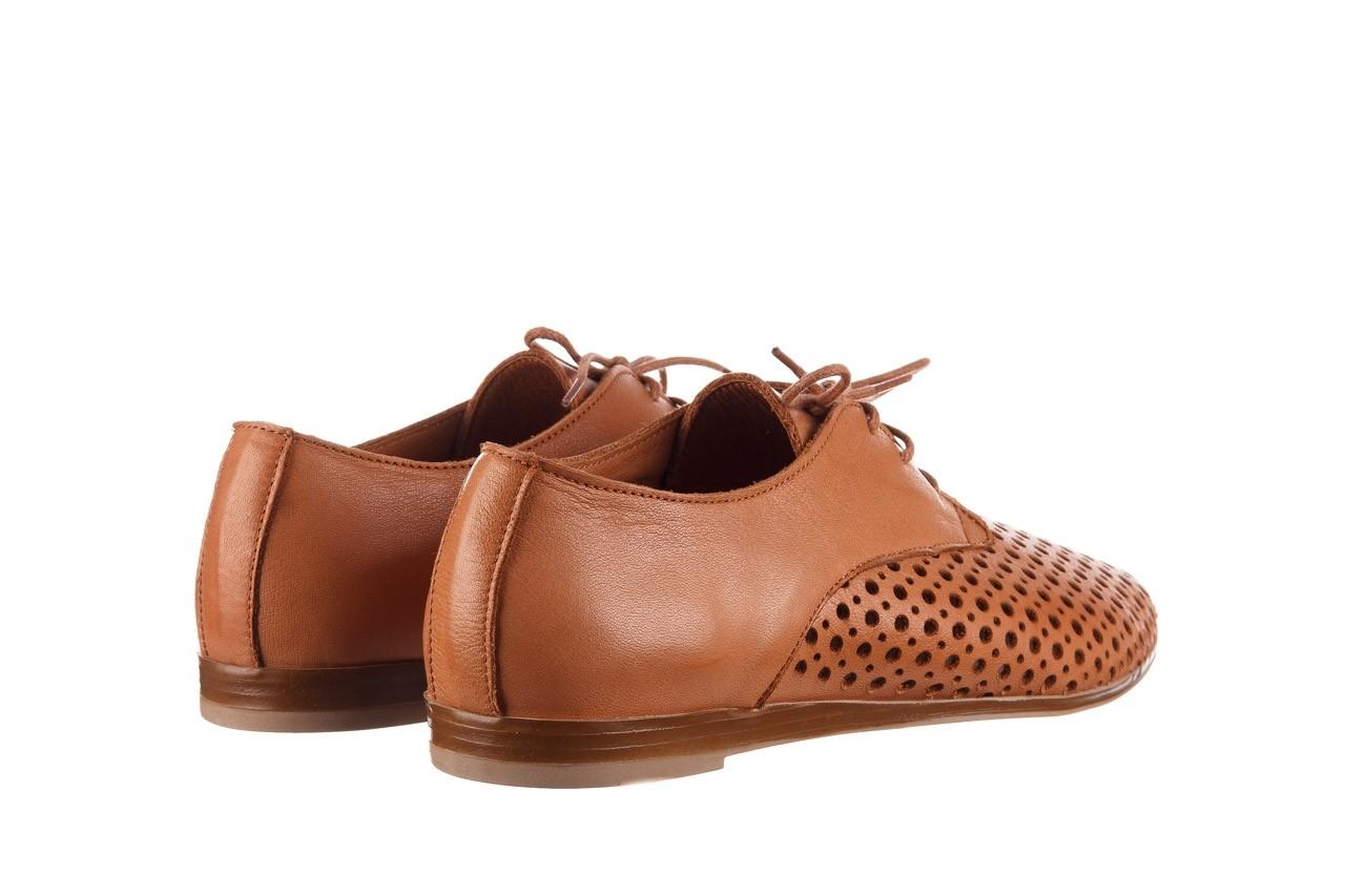 Półbuty bayla-161 138 80129 tan, brąz, skóra naturalna - sznurowane - półbuty - buty damskie - kobieta 11