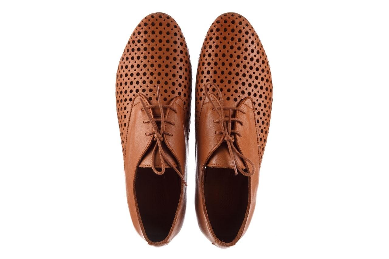 Półbuty bayla-161 138 80129 tan, brąz, skóra naturalna - sznurowane - półbuty - buty damskie - kobieta 12