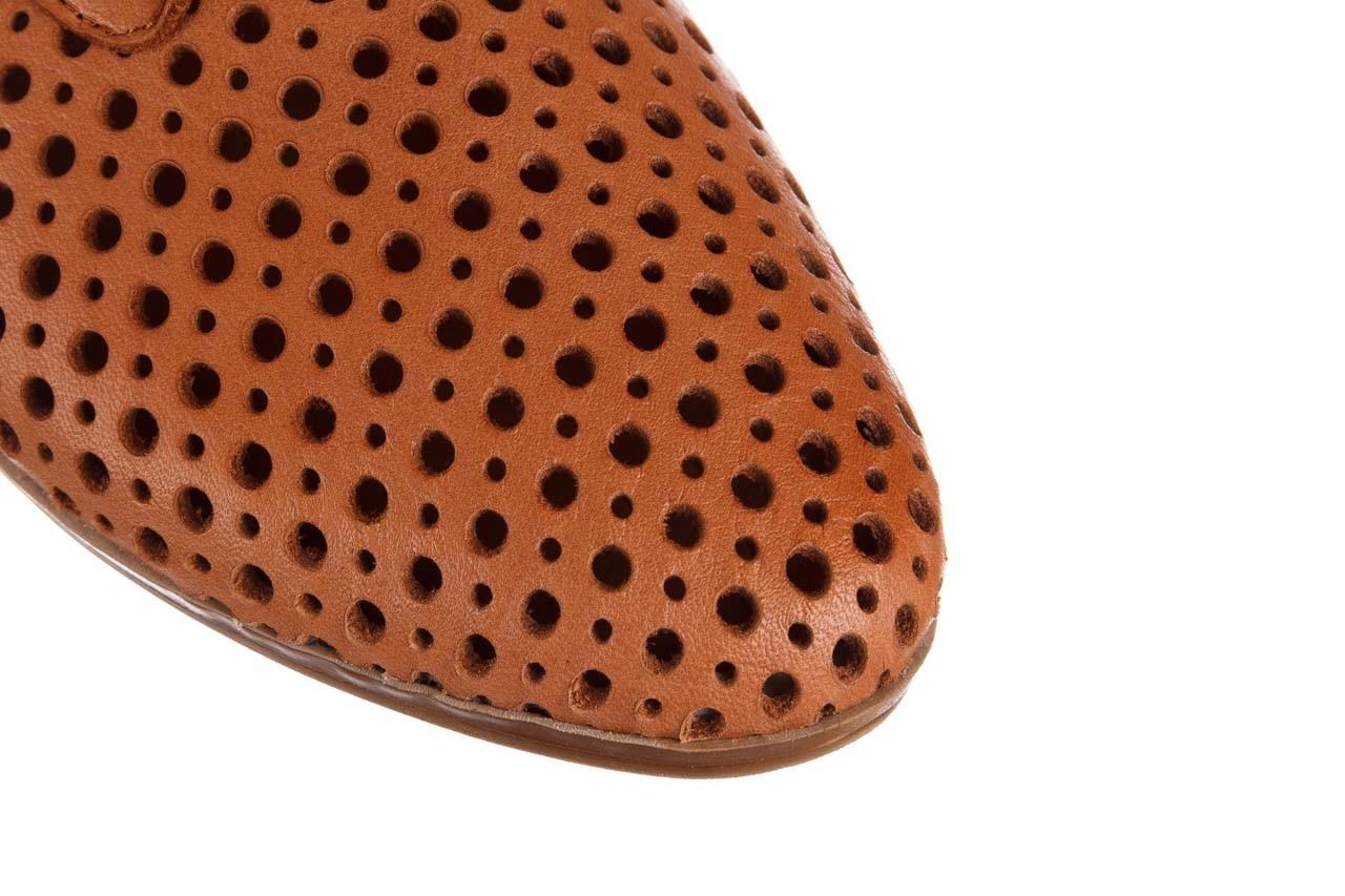 Półbuty bayla-161 138 80129 tan, brąz, skóra naturalna - sznurowane - półbuty - buty damskie - kobieta 14
