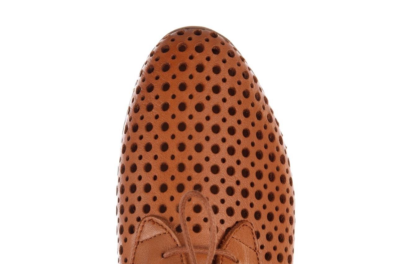 Półbuty bayla-161 138 80129 tan, brąz, skóra naturalna - sznurowane - półbuty - buty damskie - kobieta 13