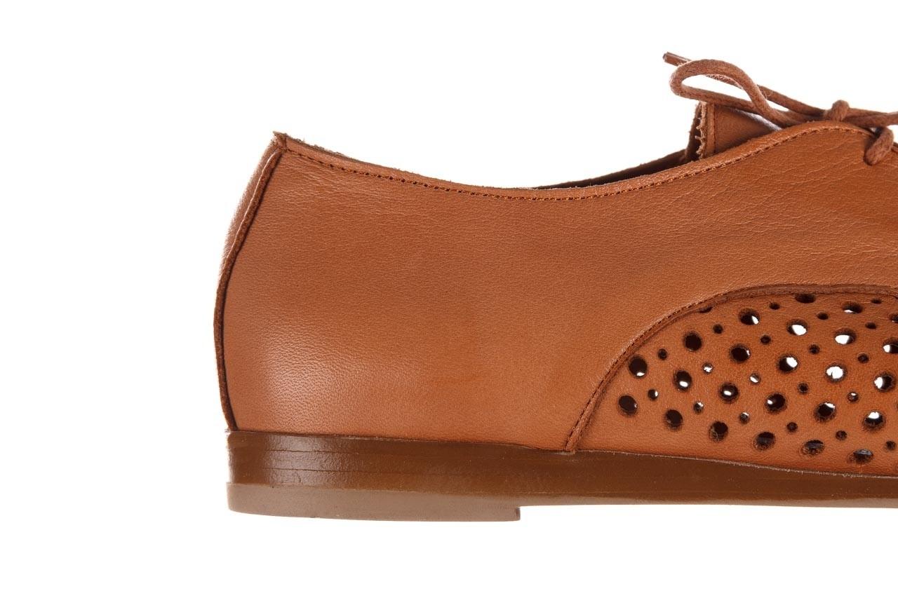 Półbuty bayla-161 138 80129 tan, brąz, skóra naturalna - sznurowane - półbuty - buty damskie - kobieta 15