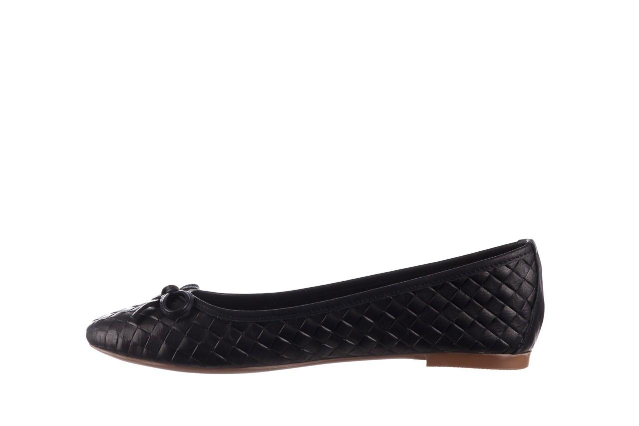 Baleriny bayla-161 093 388 6048 black 161145, czarny, skóra naturalna  - baleriny - buty damskie - kobieta 10