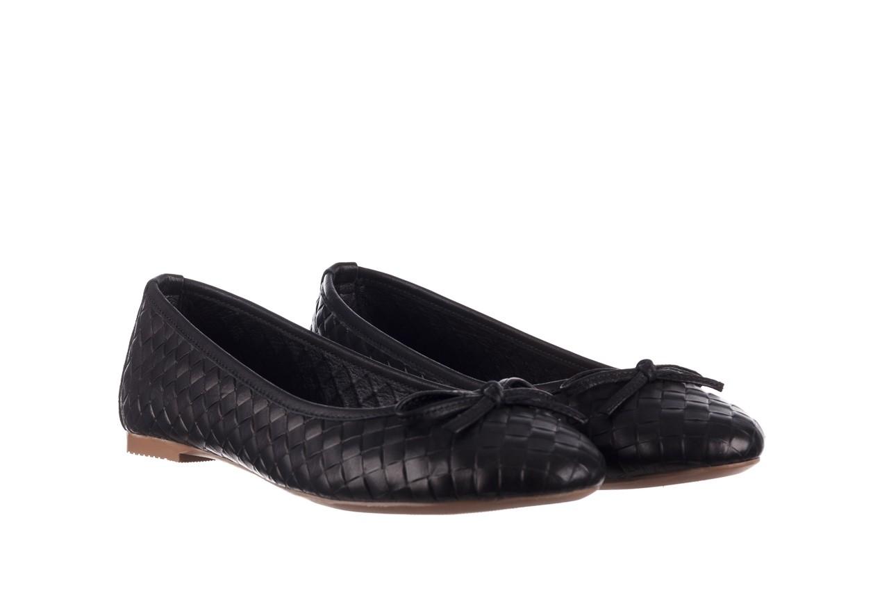 Baleriny bayla-161 093 388 6048 black 161145, czarny, skóra naturalna  - baleriny - buty damskie - kobieta 9