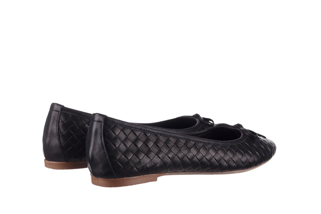 Baleriny bayla-161 093 388 6048 black 161145, czarny, skóra naturalna  - baleriny - buty damskie - kobieta 11