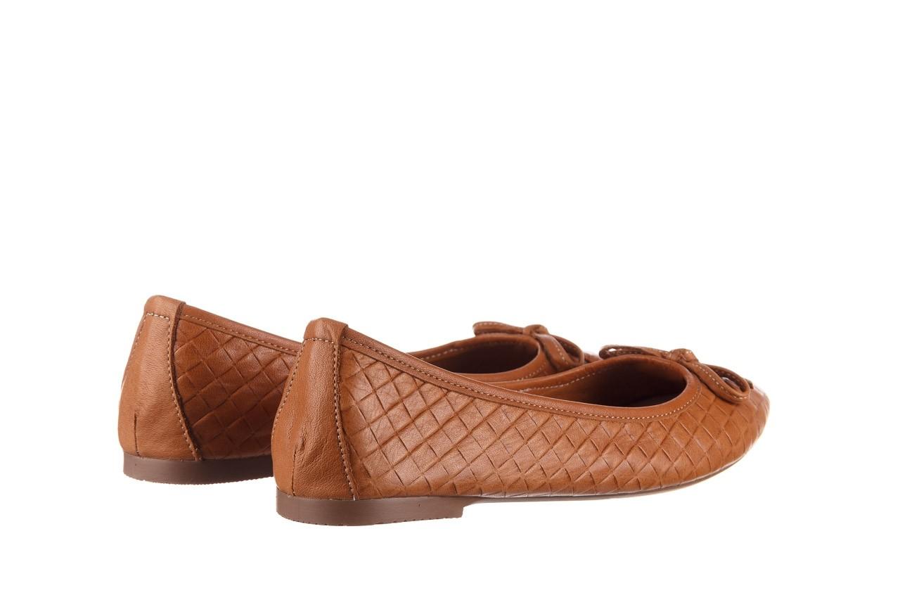 Baleriny bayla-161 093 388 6048 tan 161147, brąz, skóra naturalna  - skórzane - baleriny - buty damskie - kobieta 11