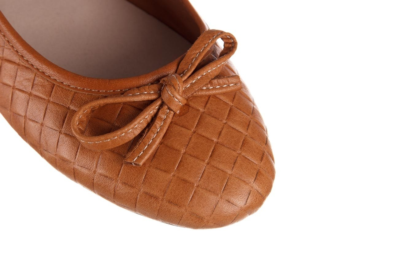 Baleriny bayla-161 093 388 6048 tan 161147, brąz, skóra naturalna  - skórzane - baleriny - buty damskie - kobieta 13
