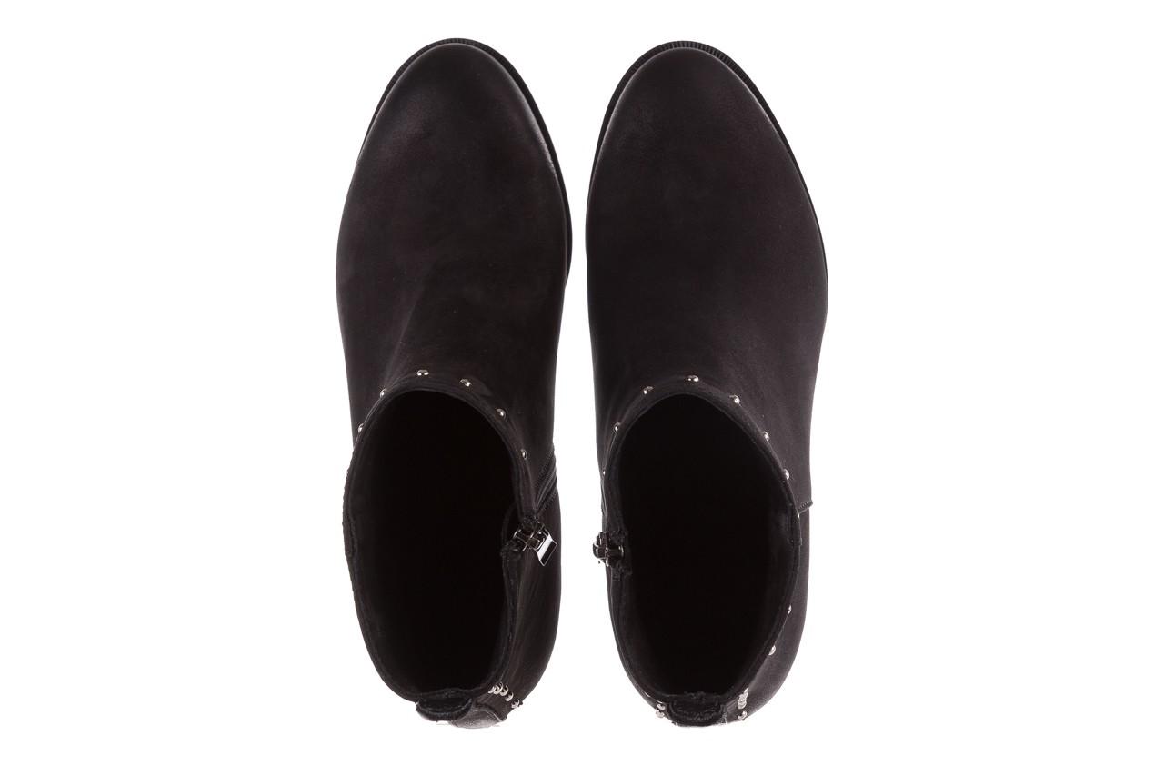 Botki bayla-170 2150 czarne botki, skóra naturalna  - bayla - nasze marki 11