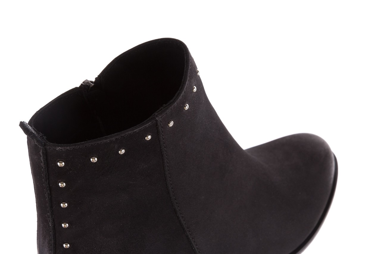 Botki bayla-170 2150 czarne botki, skóra naturalna  - bayla - nasze marki 12