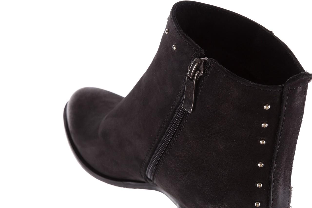 Botki bayla-170 2150 czarne botki, skóra naturalna  - bayla - nasze marki 13