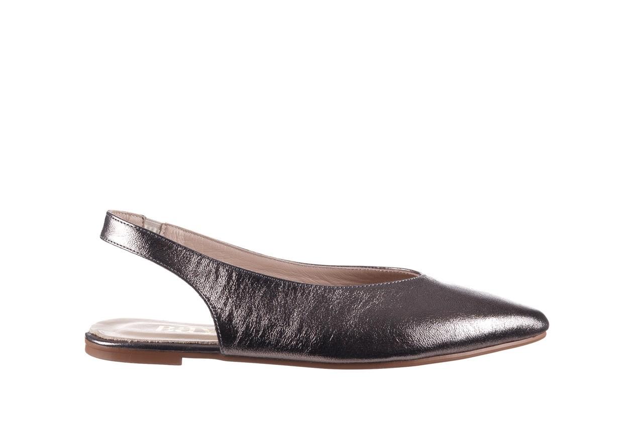Sandały bayla-161 093 388 4034 platin, srebrny, skóra naturalna - płaskie - sandały - buty damskie - kobieta 7