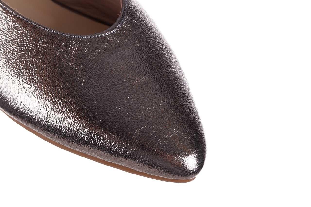 Sandały bayla-161 093 388 4034 platin, srebrny, skóra naturalna - płaskie - sandały - buty damskie - kobieta 12