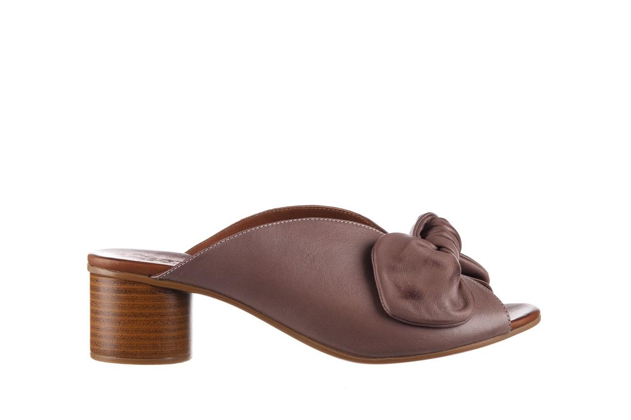 Klapki bayla-161 061 1029 hat, beż, skóra naturalna  - bayla - nasze marki 8