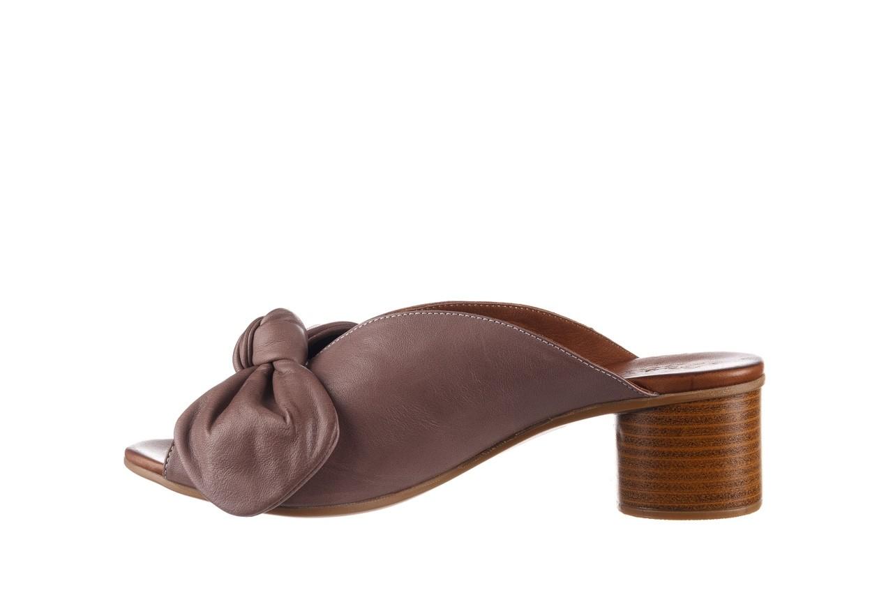 Klapki bayla-161 061 1029 hat, beż, skóra naturalna  - bayla - nasze marki 10