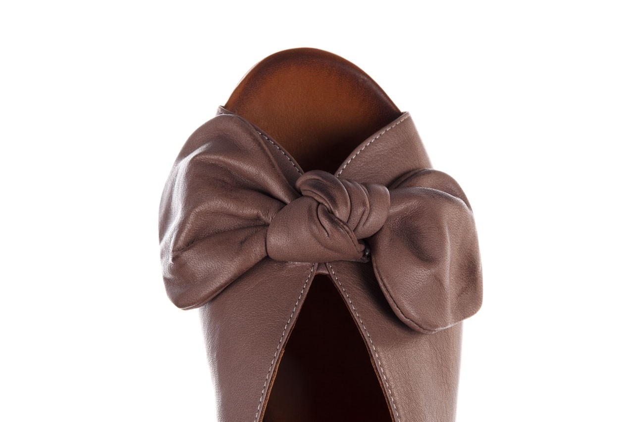 Klapki bayla-161 061 1029 hat, beż, skóra naturalna  - bayla - nasze marki 14
