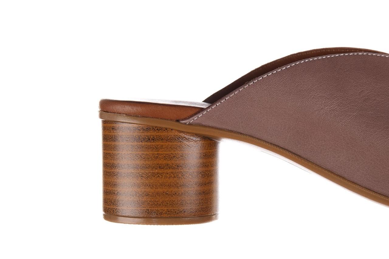 Klapki bayla-161 061 1029 hat, beż, skóra naturalna  - bayla - nasze marki 15