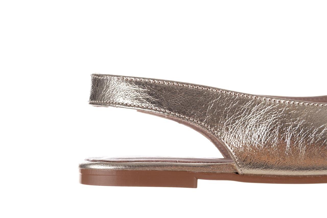 Sandały bayla-161 093 388 4034 gold, złoty, skóra naturalna - sandały - buty damskie - kobieta 13