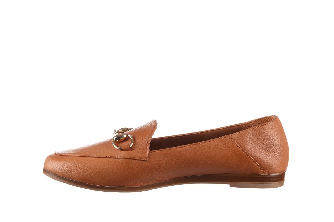 Półbuty bayla-161 138 80127 tan 21 161226, brąz, skóra naturalna  - skórzane - półbuty - buty damskie - kobieta 10