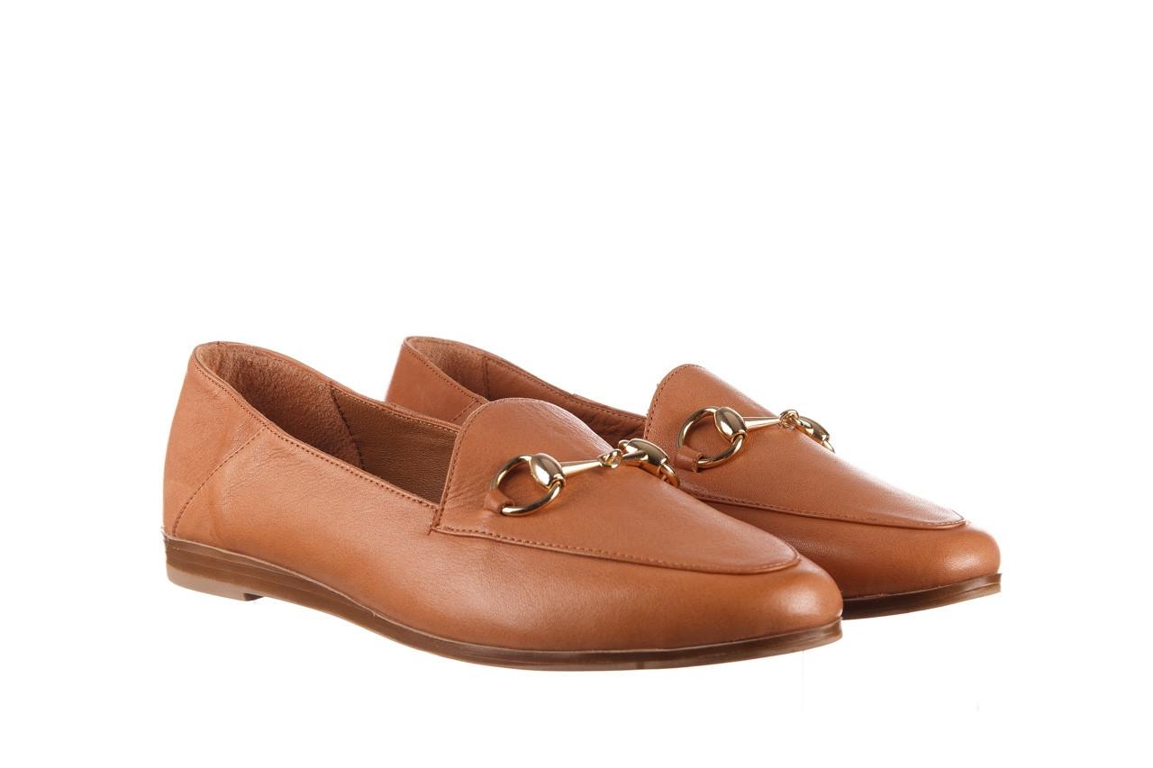Półbuty bayla-161 138 80127 tan 21 161226, brąz, skóra naturalna  - skórzane - półbuty - buty damskie - kobieta 9