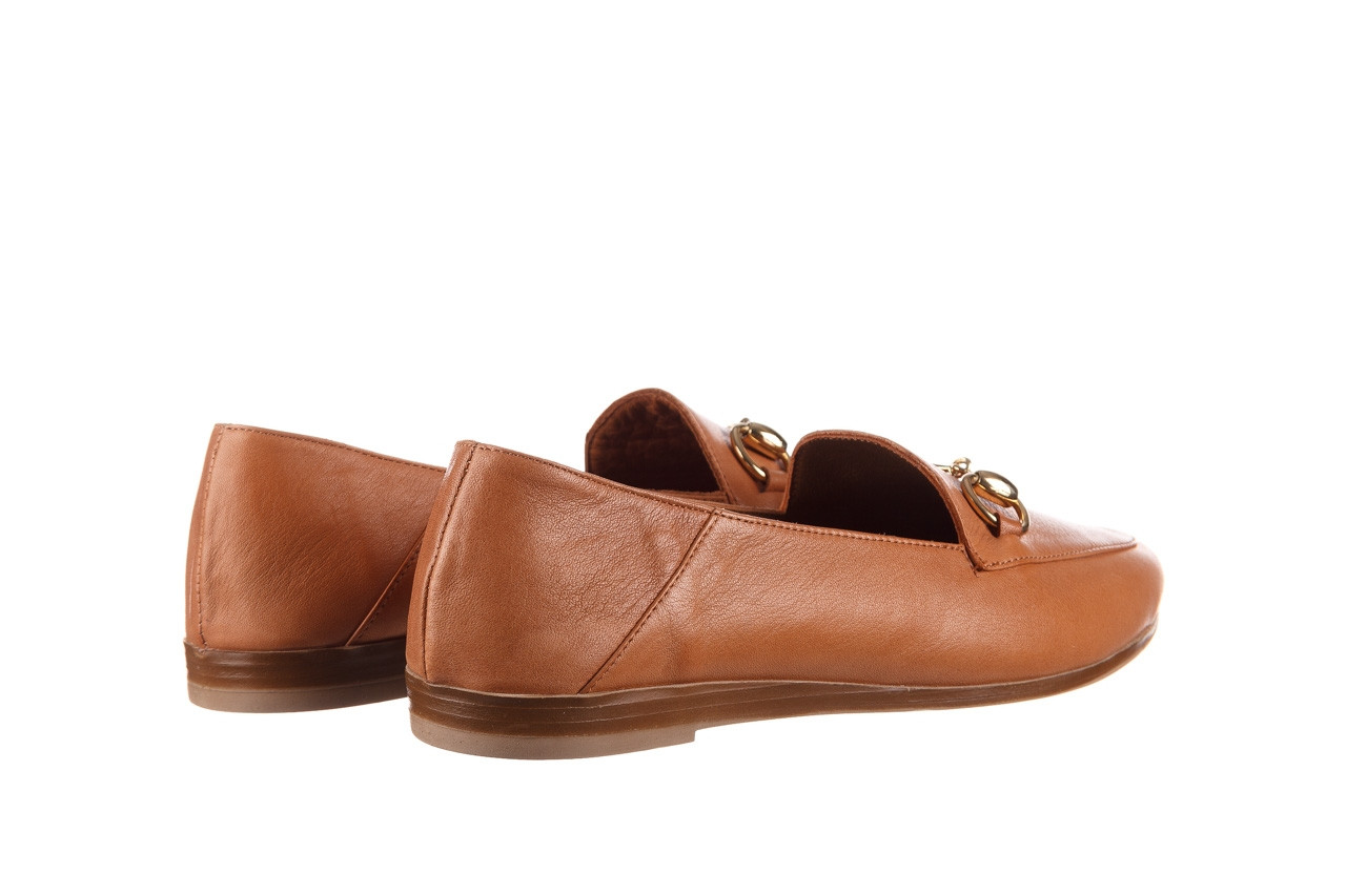Półbuty bayla-161 138 80127 tan 21 161226, brąz, skóra naturalna  - skórzane - półbuty - buty damskie - kobieta 11