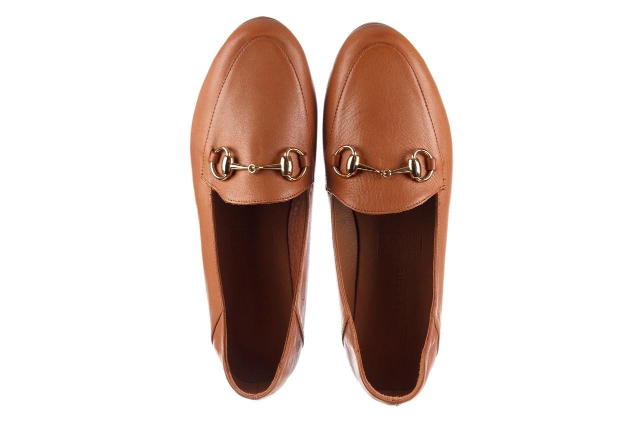 Półbuty bayla-161 138 80127 tan 21 161226, brąz, skóra naturalna  - skórzane - półbuty - buty damskie - kobieta 12