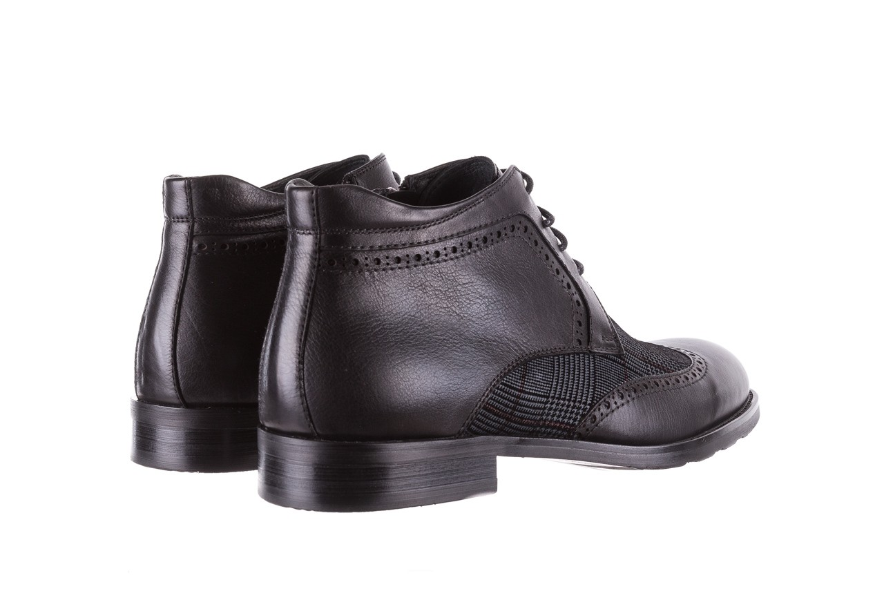 Półbuty brooman a2001-14-75-1-r black, czarny, skóra naturalna  - brooman - nasze marki 13