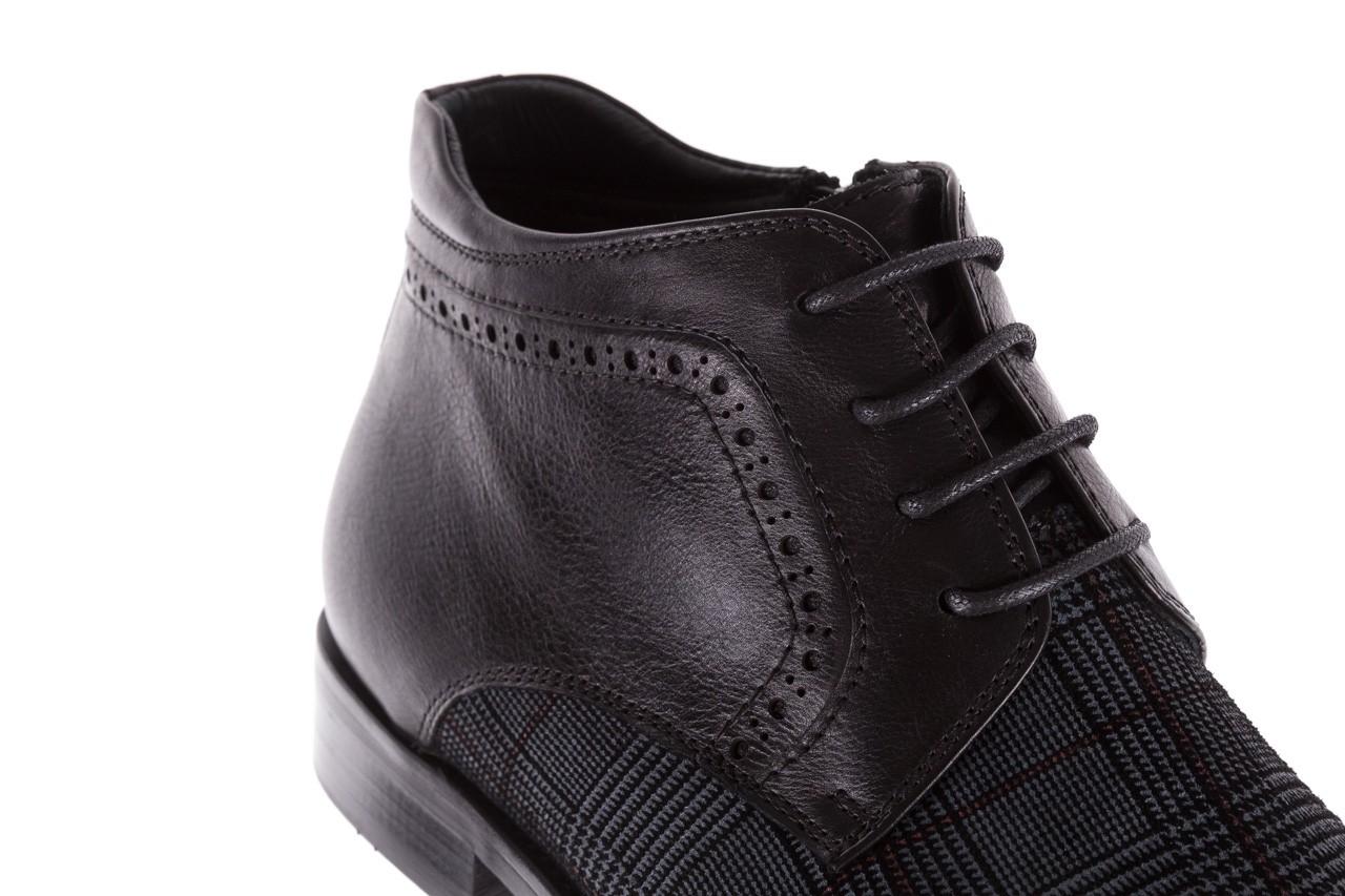 Półbuty brooman a2001-14-75-1-r black, czarny, skóra naturalna  - brooman - nasze marki 17