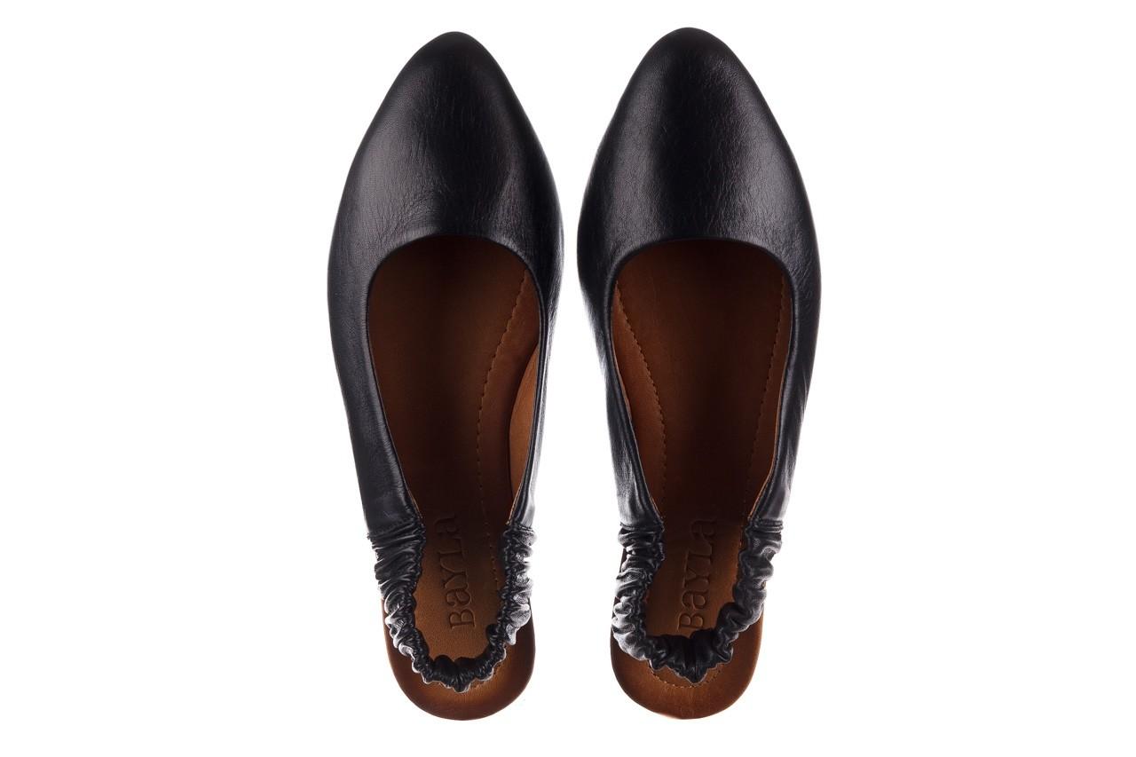 Sandały bayla-161 066 730 367 black, czarny, skóra naturalna  - sandały - buty damskie - kobieta 11