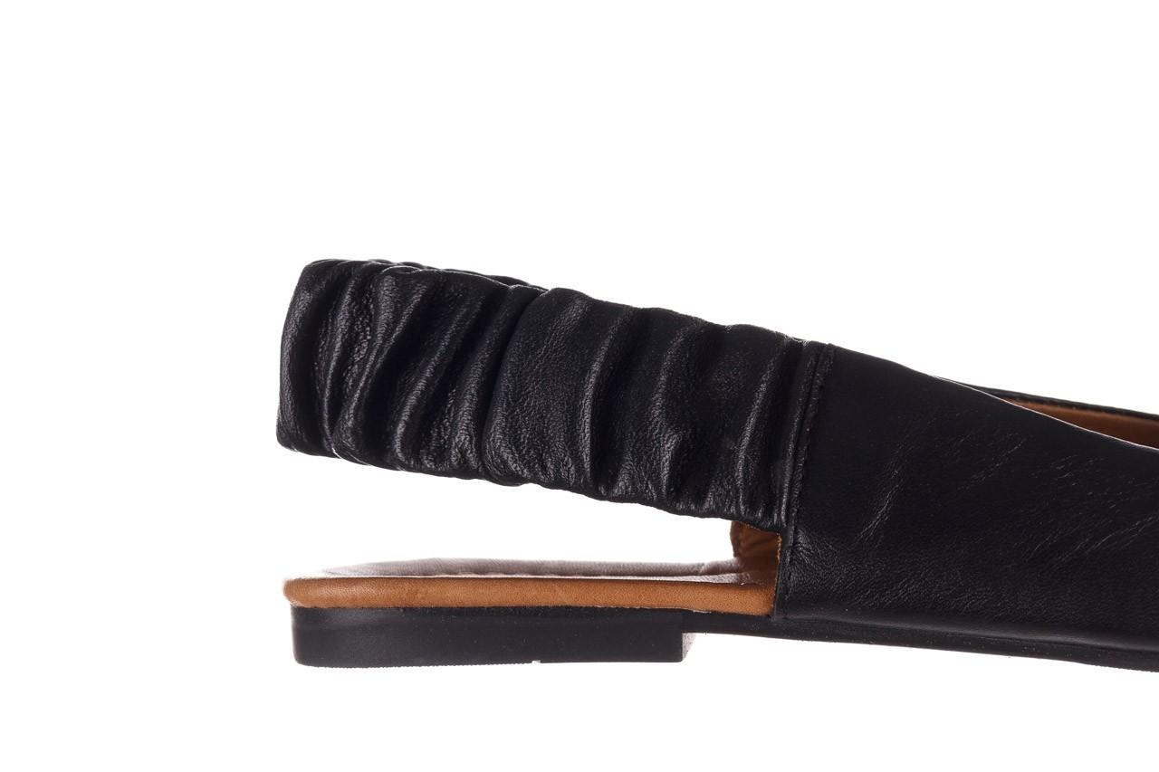 Sandały bayla-161 066 730 367 black, czarny, skóra naturalna  - sandały - buty damskie - kobieta 13