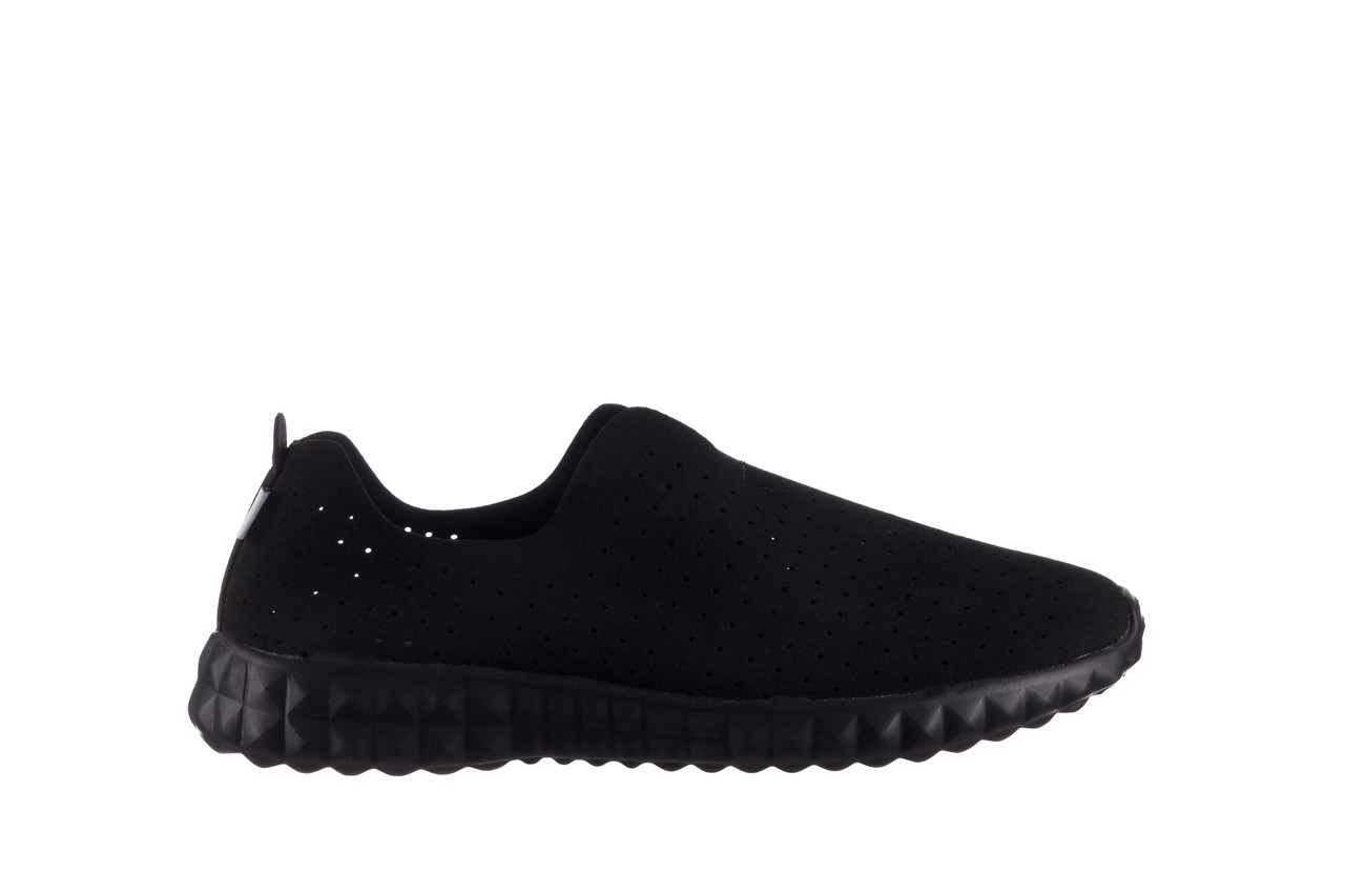 Półbuty rock mandalay black, czarny, materiał - półbuty - buty damskie - kobieta 8