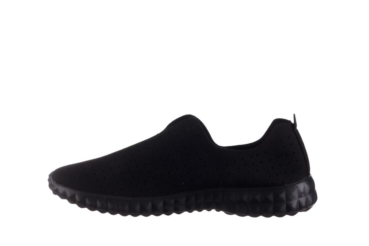 Półbuty rock mandalay black, czarny, materiał - półbuty - buty damskie - kobieta 10