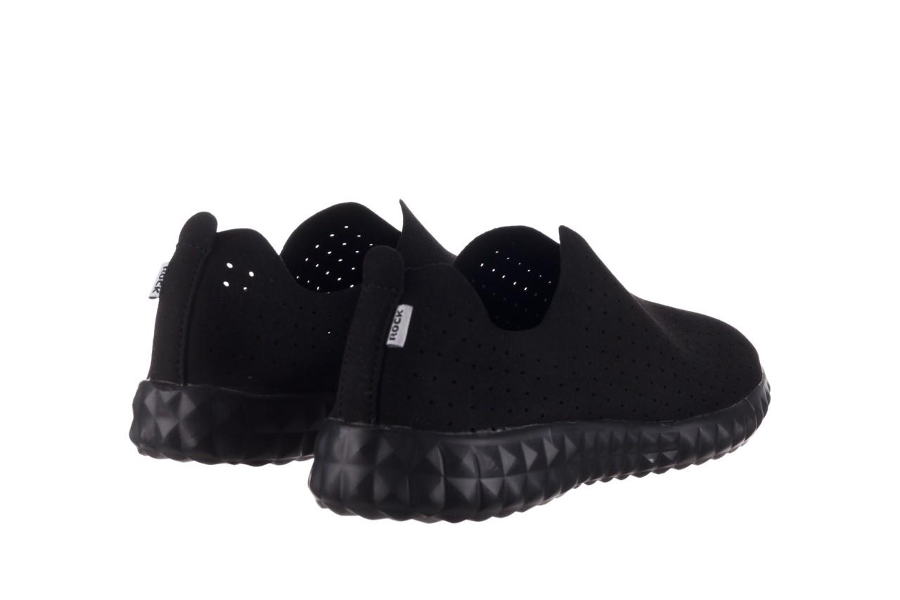 Półbuty rock mandalay black, czarny, materiał - półbuty - buty damskie - kobieta 11
