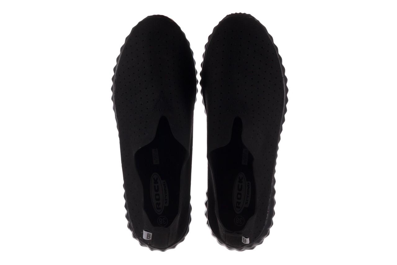 Półbuty rock mandalay black, czarny, materiał - półbuty - buty damskie - kobieta 12