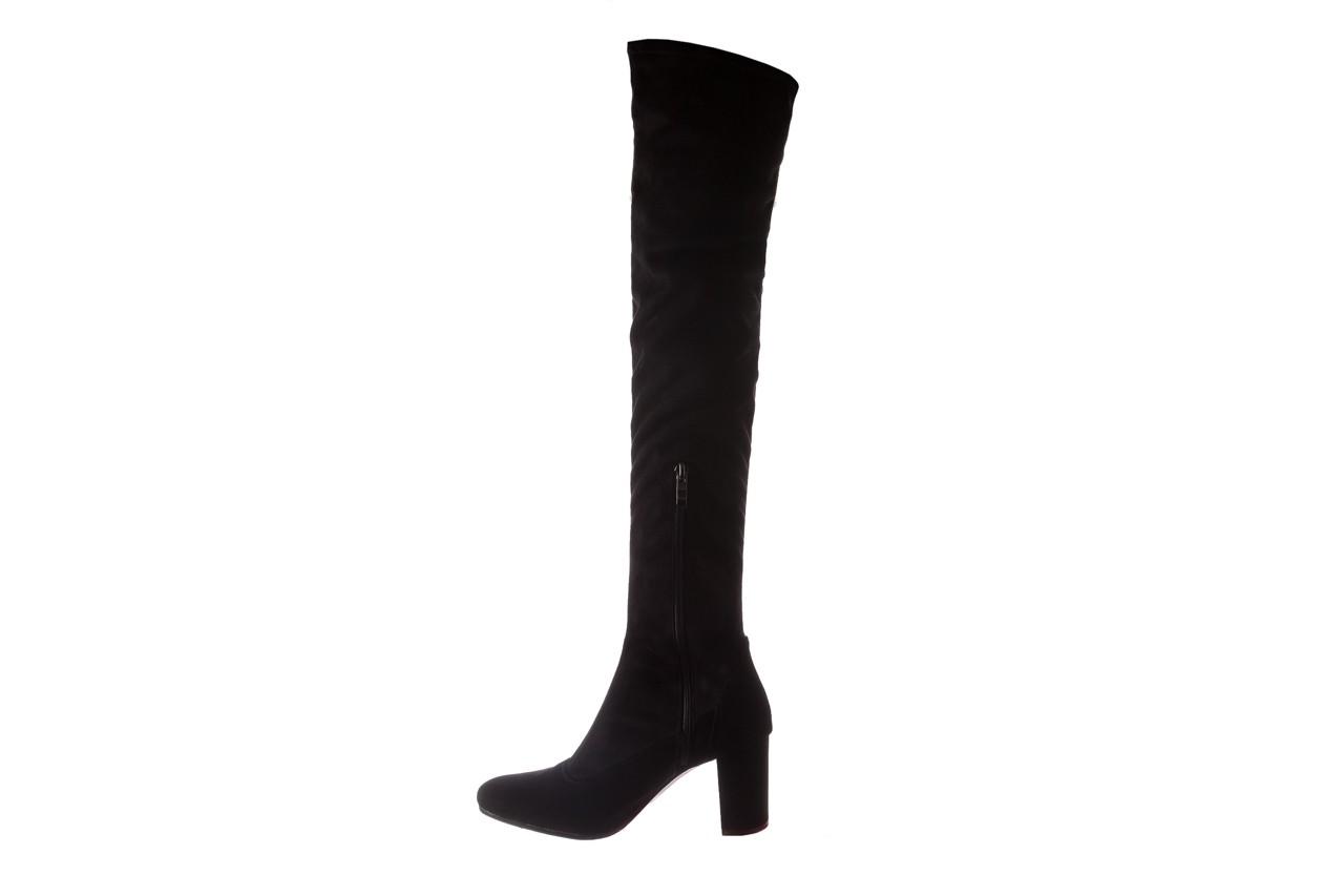 Kozaki bayla-130 4877 czarne kozaki muszkieterki, skóra ekologiczna - za kolano / muszkieterki - kozaki - buty damskie - kobieta 10