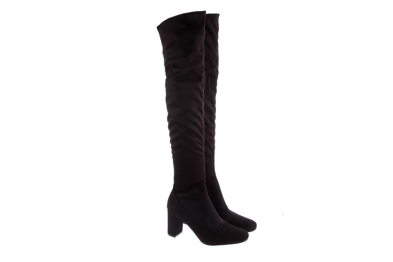 Kozaki bayla-130 4877 czarne kozaki muszkieterki, skóra ekologiczna - za kolano / muszkieterki - kozaki - buty damskie - kobieta 9
