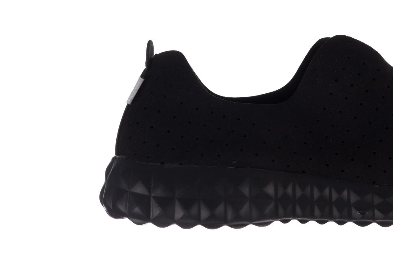 Półbuty rock mandalay black, czarny, materiał - półbuty - buty damskie - kobieta 15