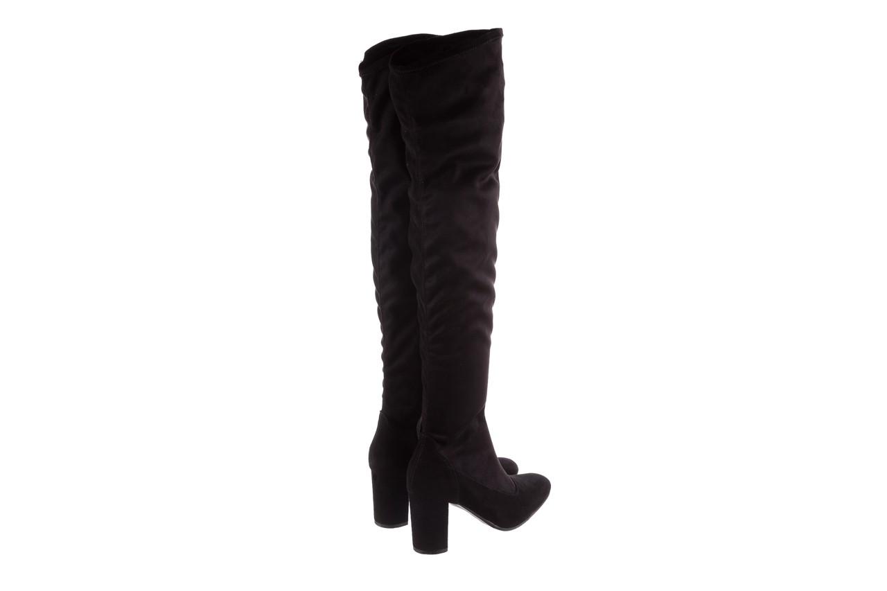 Kozaki bayla-130 4877 czarne kozaki muszkieterki, skóra ekologiczna - za kolano / muszkieterki - kozaki - buty damskie - kobieta 11