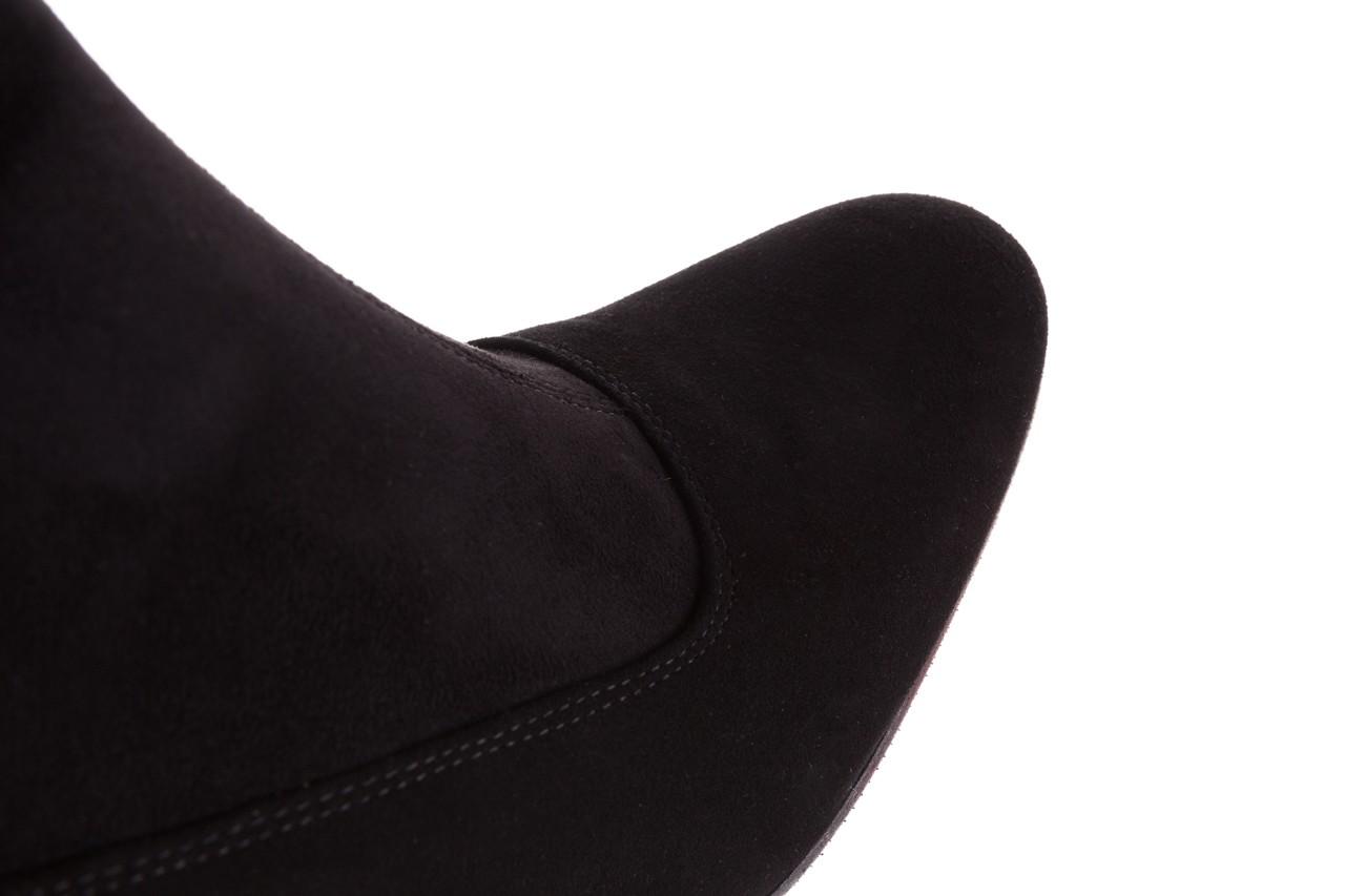Kozaki bayla-130 4877 czarne kozaki muszkieterki, skóra ekologiczna - za kolano / muszkieterki - kozaki - buty damskie - kobieta 15