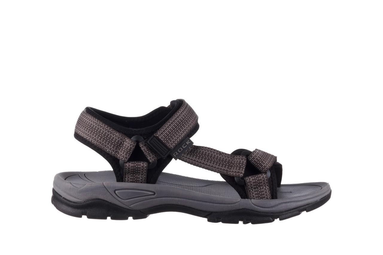Sandały rock kern grey men, szary, materiał  - sandały - dla niego - sale 7