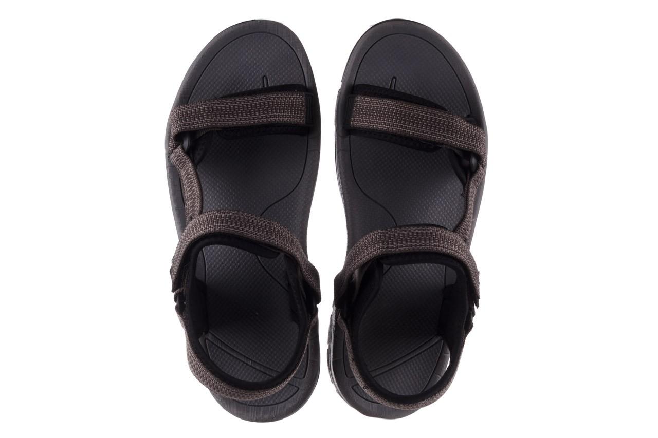 Sandały rock kern grey men, szary, materiał  - sandały - dla niego - sale 11