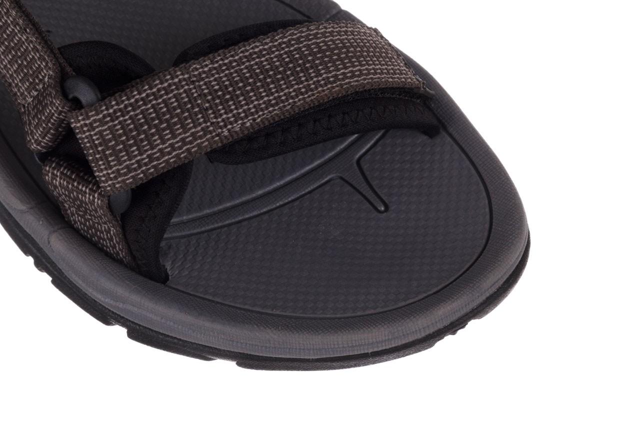 Sandały rock kern grey men, szary, materiał  - sandały - dla niego - sale 12