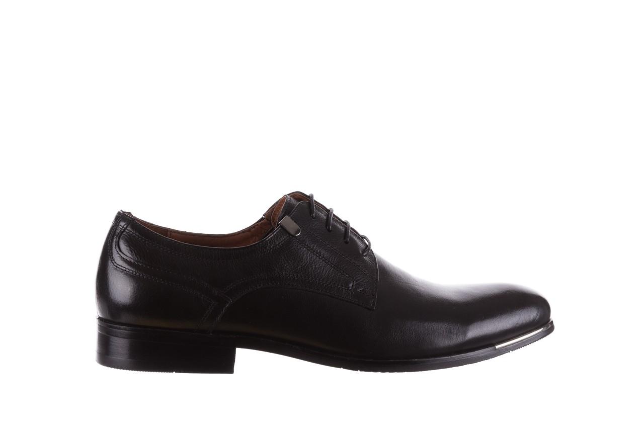 Półbuty brooman h8070-12-04 black, czarny, skóra naturalna - brooman - nasze marki 5