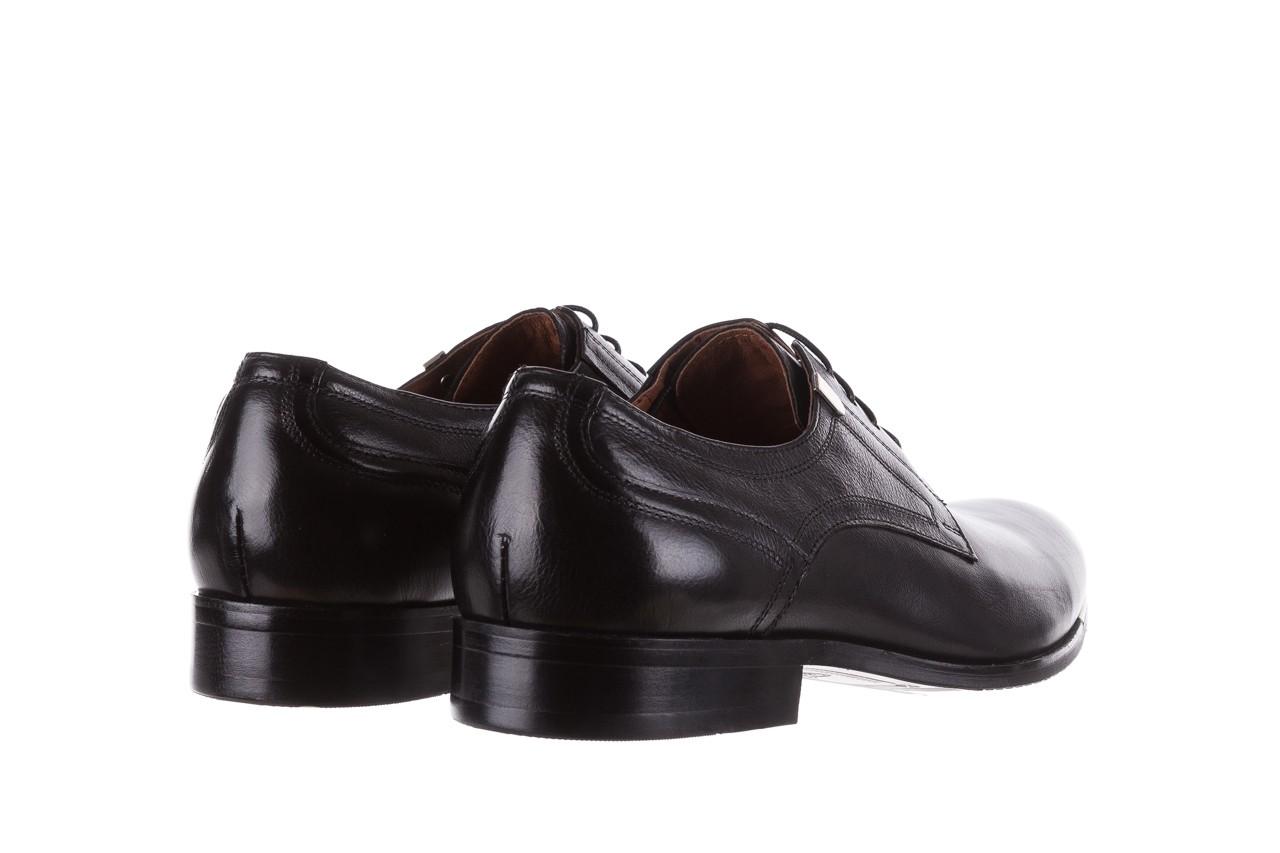Półbuty brooman h8070-12-04 black, czarny, skóra naturalna - brooman - nasze marki 8