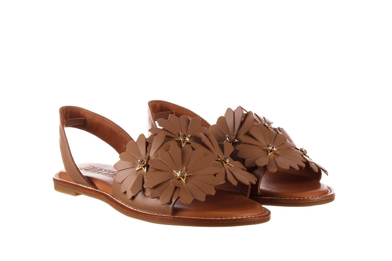 Sandały bayla-190 285 631 530, brąz, skóra naturalna  - płaskie - sandały - buty damskie - kobieta 9