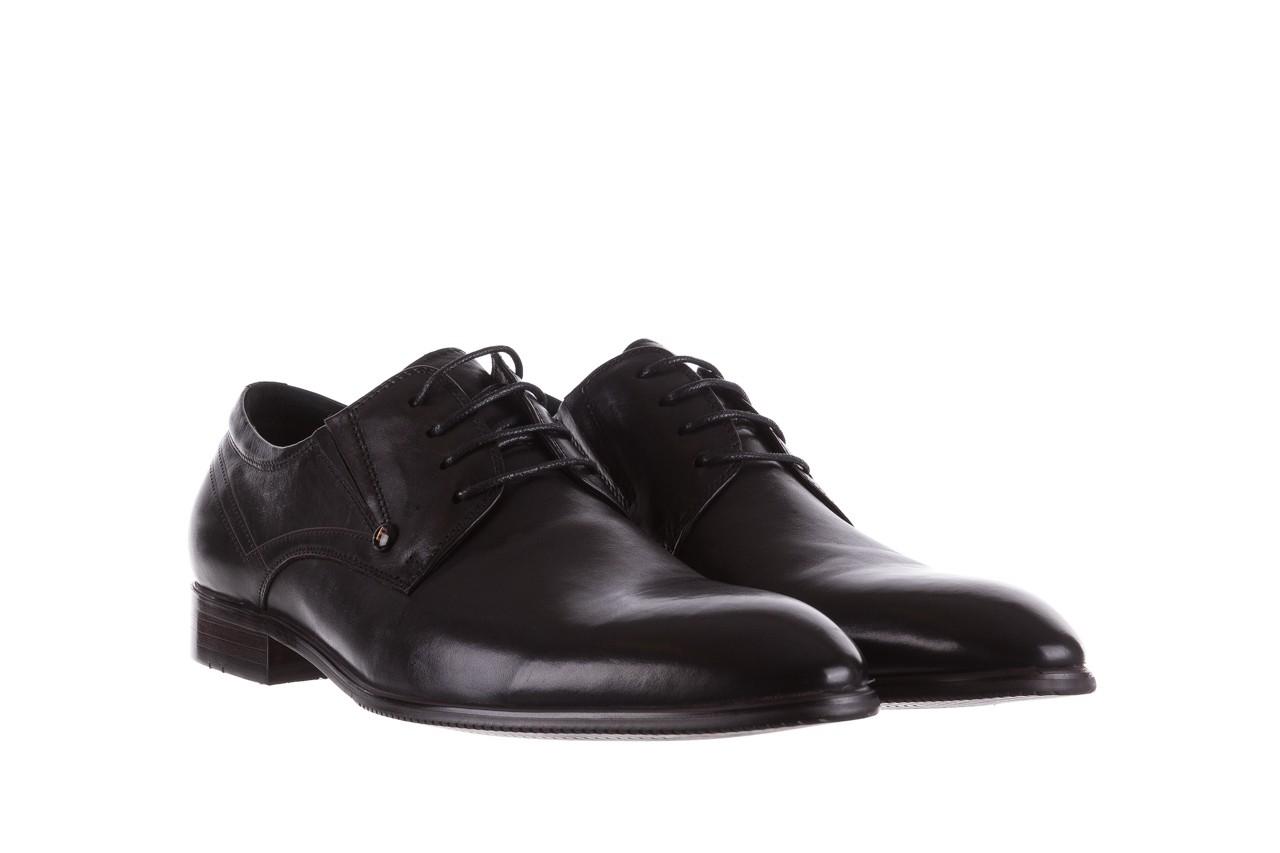 Półbuty brooman b-545 black, czarny, skóra naturalna - bayla exclusive - trendy - mężczyzna 8