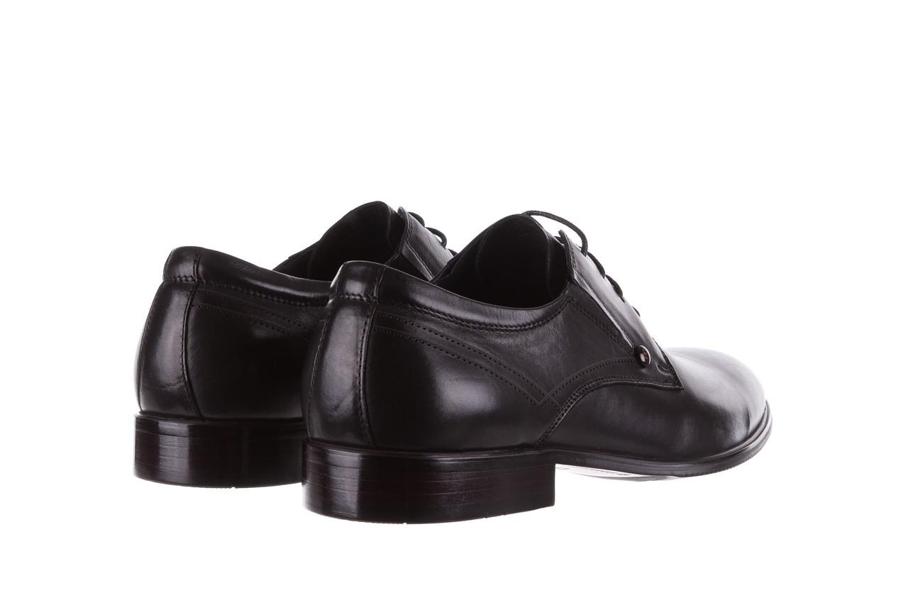 Półbuty brooman b-545 black, czarny, skóra naturalna - bayla exclusive - trendy - mężczyzna 10
